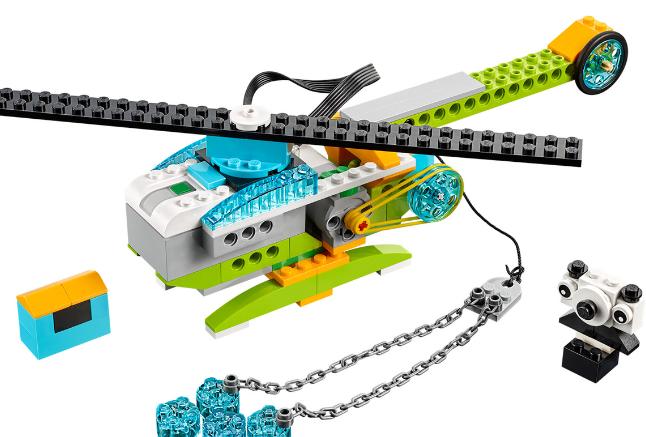 Lego WeDo 2.0 Helicopter Primary school workshop
