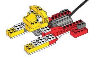 Lego WeDo Roaring lion