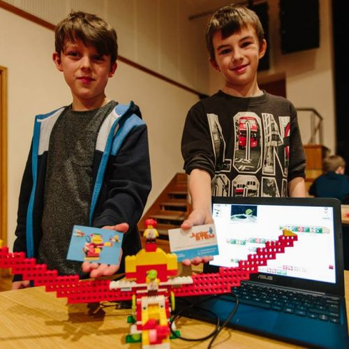 JuniorSTEM Lego WeDo Workshops