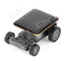 World's Smallest Solar Car